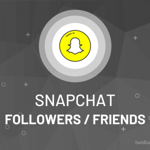 Buy Snapchat Followers / Friends