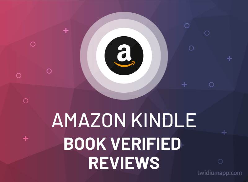 Buy Amazon Kindle Book Verified Reviews