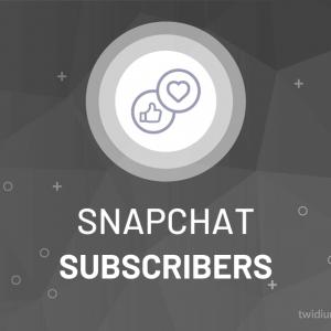 Buy Snapchat Subscribers