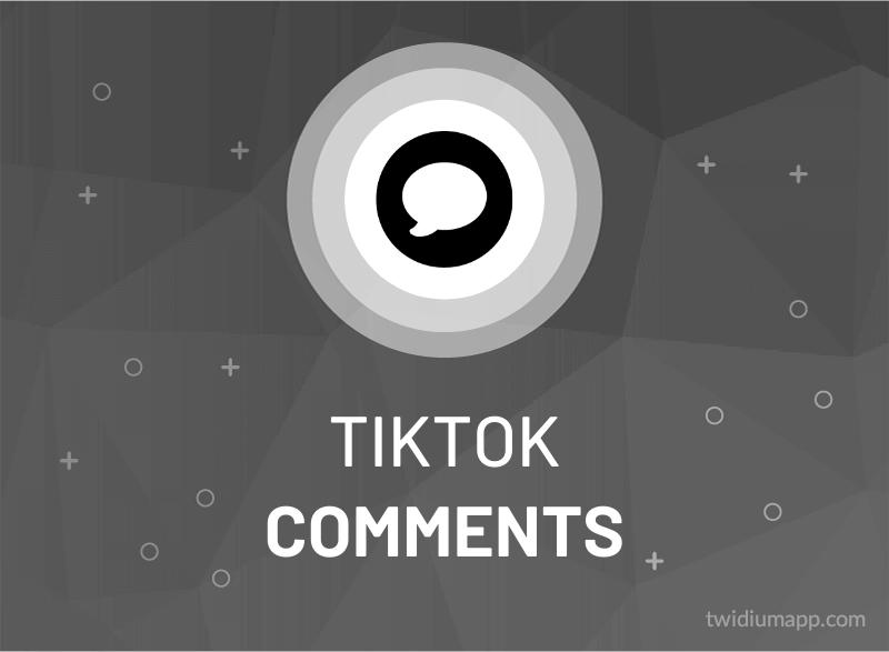 Buy TikTok Comments (Custom)