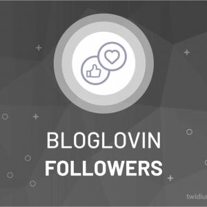 Buy Bloglovin Followers