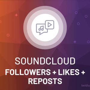 Buy SoundCloud Followers + Likes + Reposts